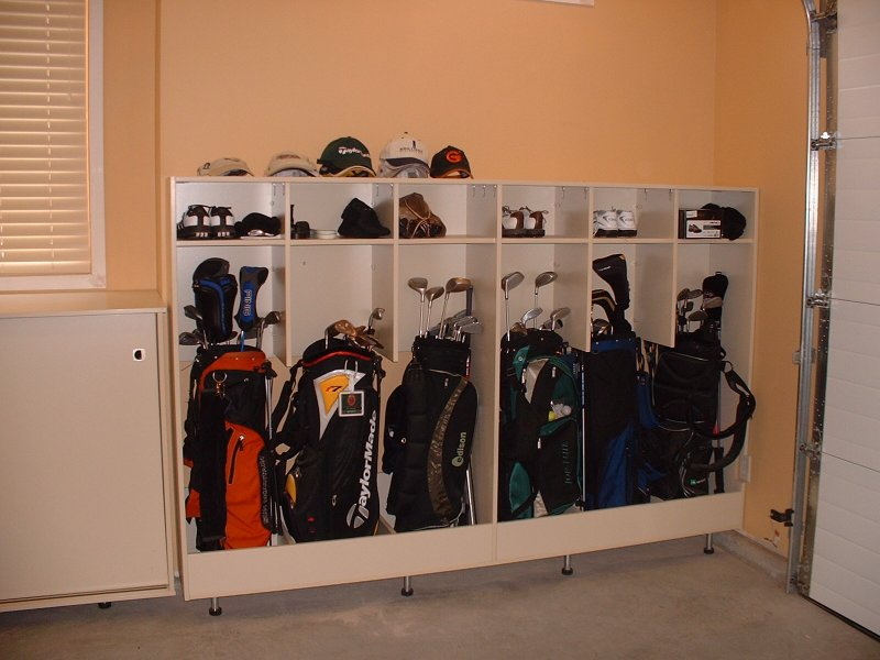Garage Cabinetry Kelowna Image.