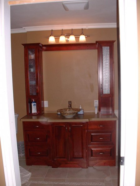 custom vanities kelowna image - Bathroom Cabinets Kelowna